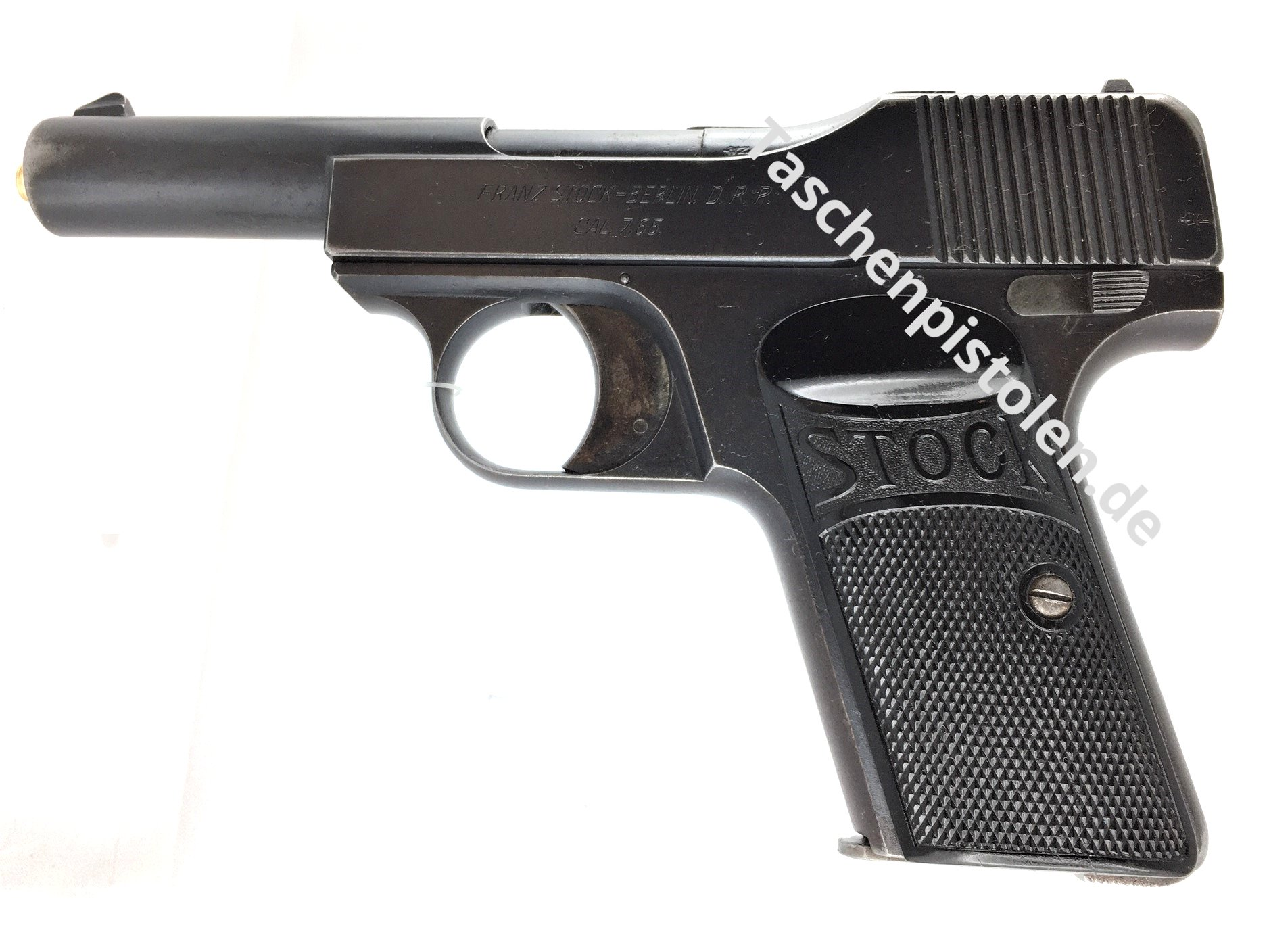 Stock 7,65mm Browning 1. Variante